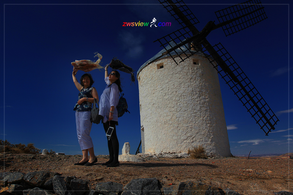 西班牙科尔多瓦风车村
