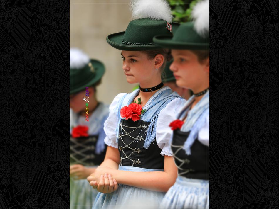 巴伐利亚的传统服装