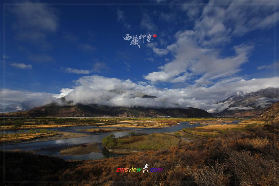 西藏的湿地