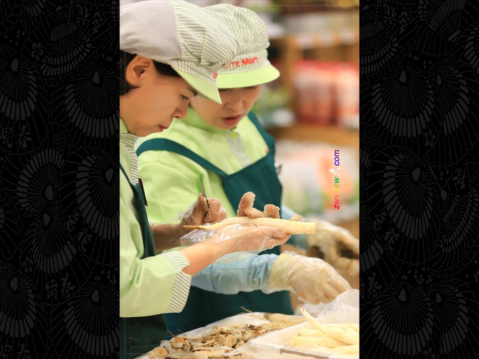 韩国一大怪:高丽参当萝卜卖
