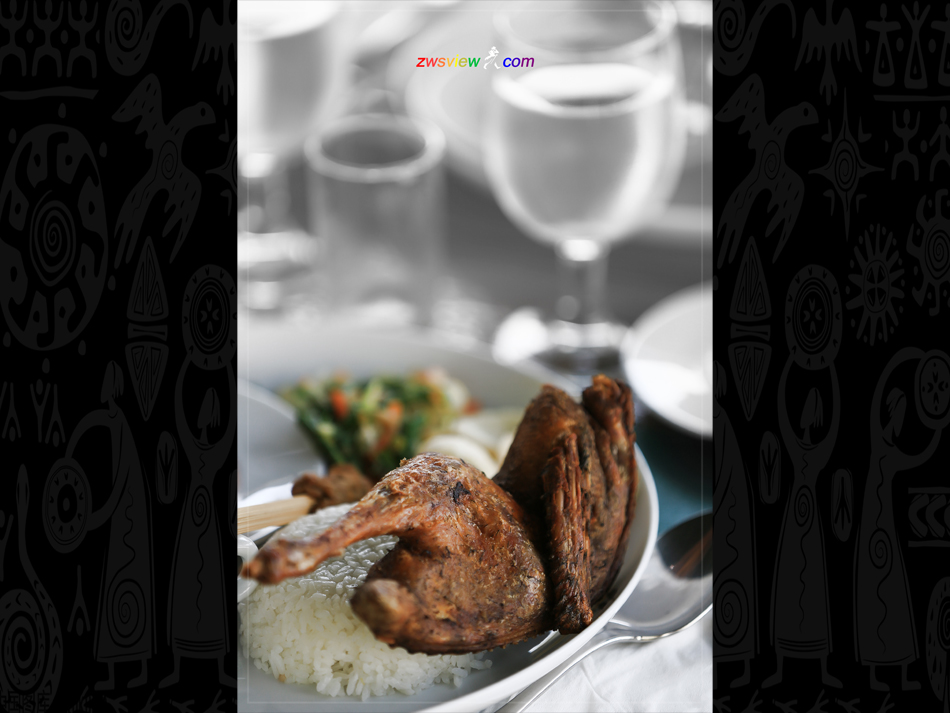 巴厘岛脏鸭餐