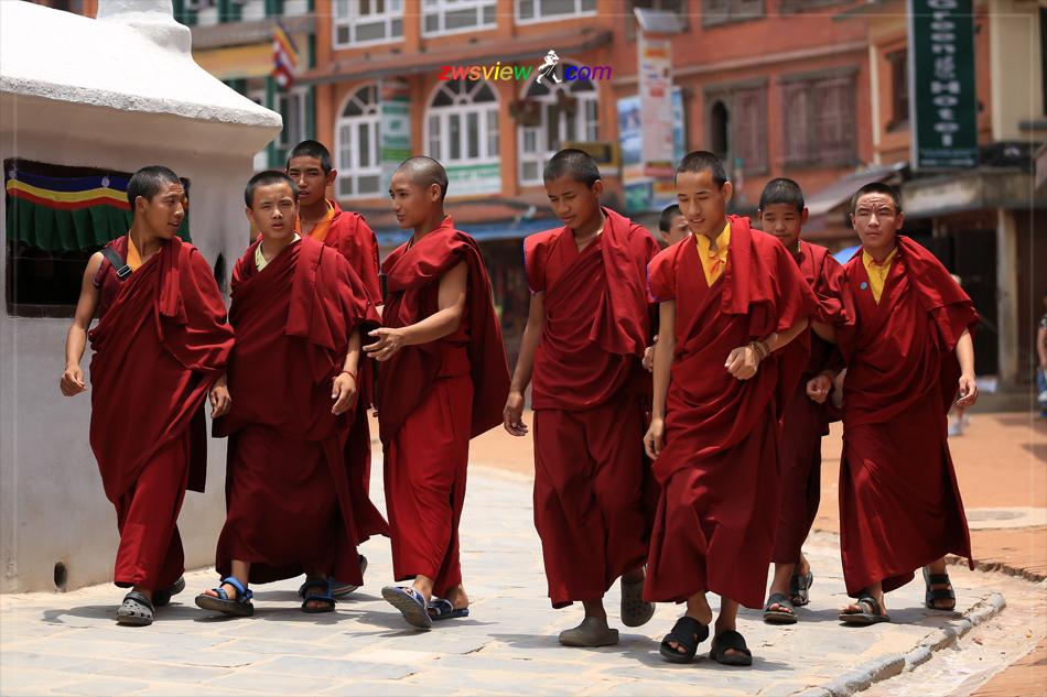 尼泊尔的藏人