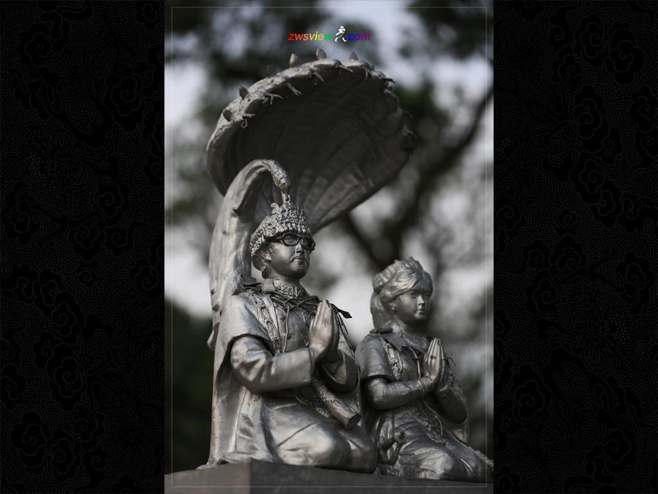 眼镜蛇:尼泊尔国王的守护神