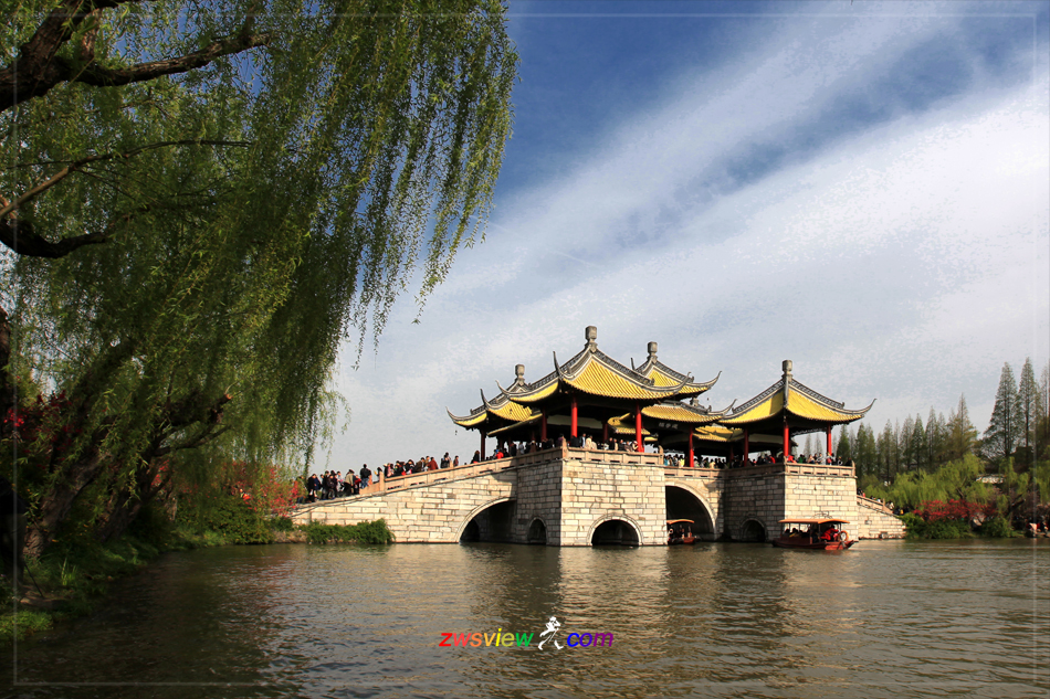 扬州五亭桥